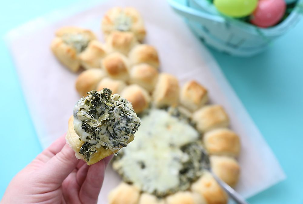 Crescent Roll Bunny Dishes