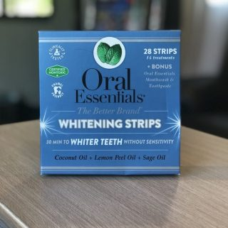 Why would you want to go to the dentist when Oral Essentials has Teeth Whitening Strips that you can easily use at home, when you want to and all in the privacy of your own home without doing damage to your teeth.