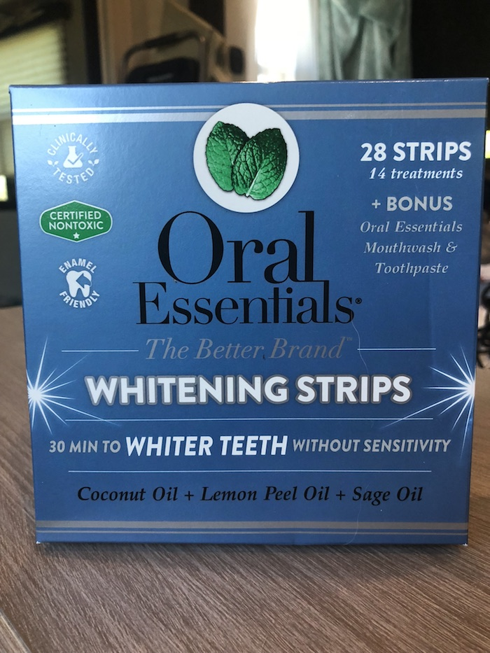 Why would you want to go to the dentist whenOral Essentials hasTeeth Whitening Stripsthat you can easily use at home, when you want to and all in the privacy of your own home without doing damage to your teeth.