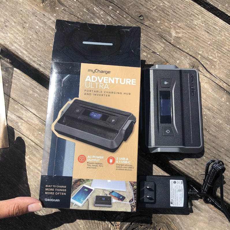 Summer is coming and it's almost time for camping. School will be out in 15 days and Memorial Day weekend is the unofficial start to summer with a weekend camping trip for the past 40 years. Everyone needs a MyCharge Adventure Ultra to take along with them.