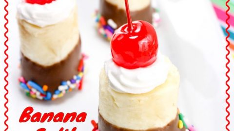 I love bite size holiday foods. TheBanana Split Bites Recipe is perfect for a last minute treat for the 4th of July or any holiday for that matter.
