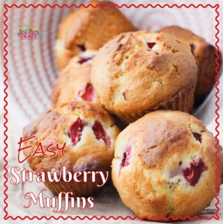 It's almost strawberry season here in the Northeast so I'm going to be sharing a few of my family's favorite strawberry recipes like thisEasy Strawberry Muffins Recipe. That's one of the great things about traveling...I get to be in strawberry season from early March until late June.