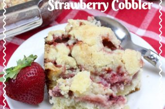 Strawberry season is here in the Northeast and we are sharing another one of our favorite strawberry recipes. TheFresh Strawberry Cobbler Recipe is perfect for any occasion.