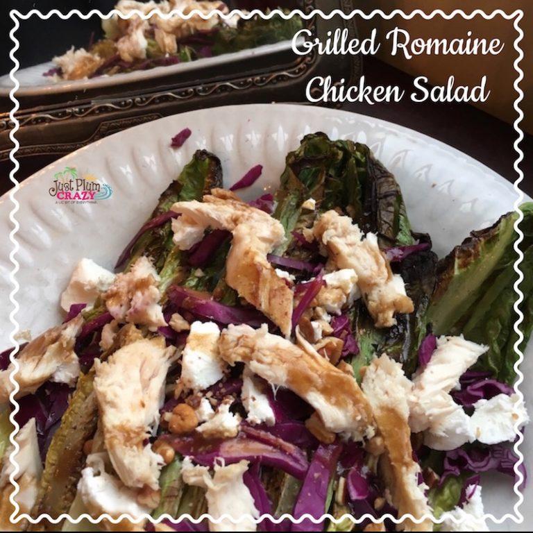 Grilled Romaine Chicken Salad Recipe