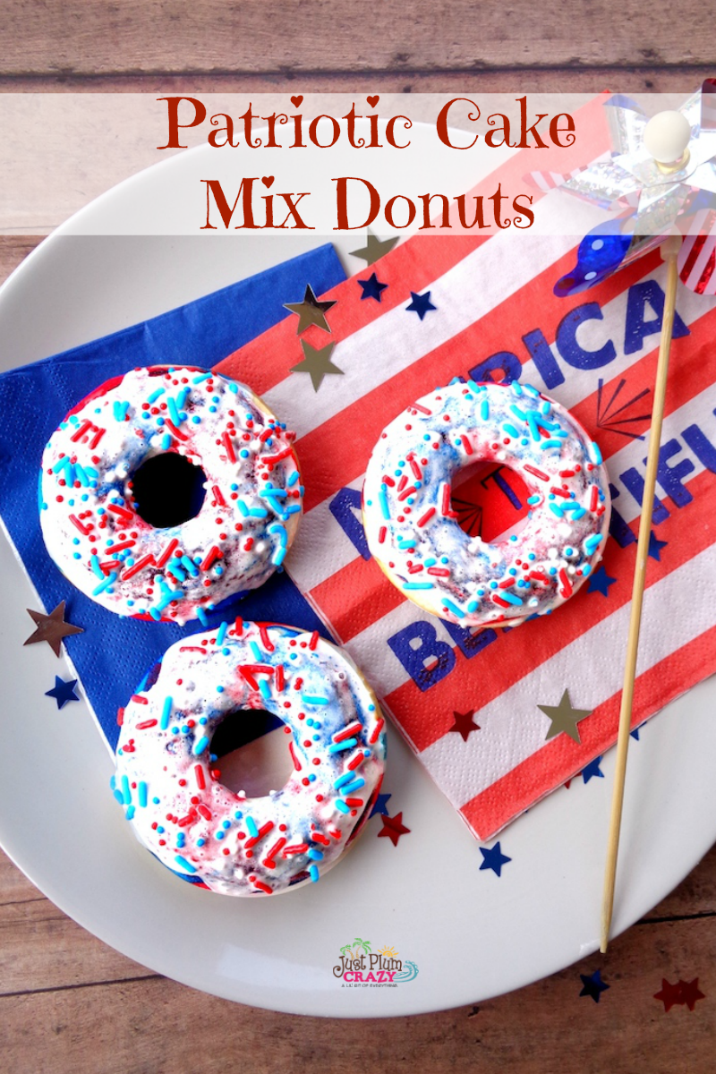 Baked July 4th Donuts Recipe