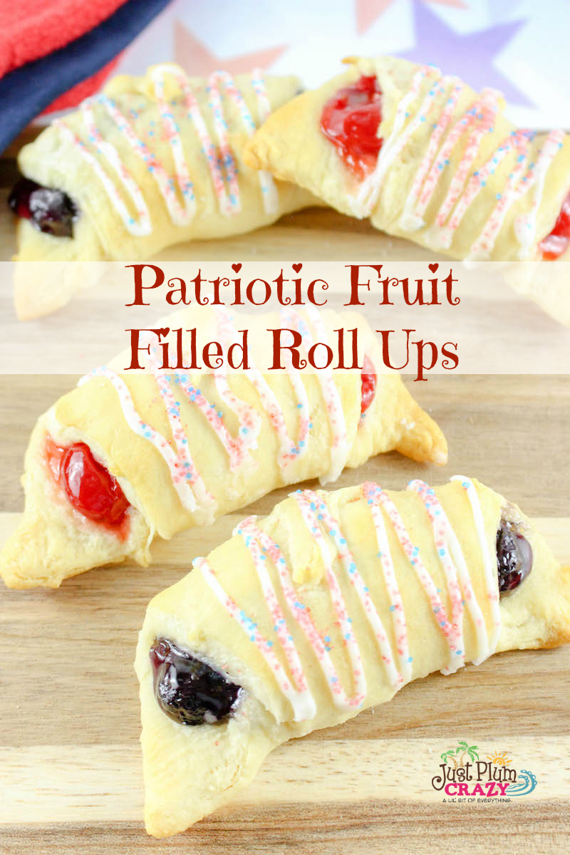 With Memorial Day behind us and the 4th of July quickly approaching, we will be sharing some of our favorite patriotic recipes like the Patriotic Fruit Filled Roll Ups Recipe!