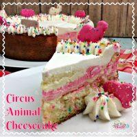 Circus Animal Cheesecake