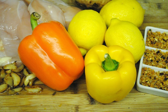 Lemon Chicken Recipe Ingredients