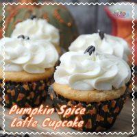 Pumpkin Spice Latte Cupcake