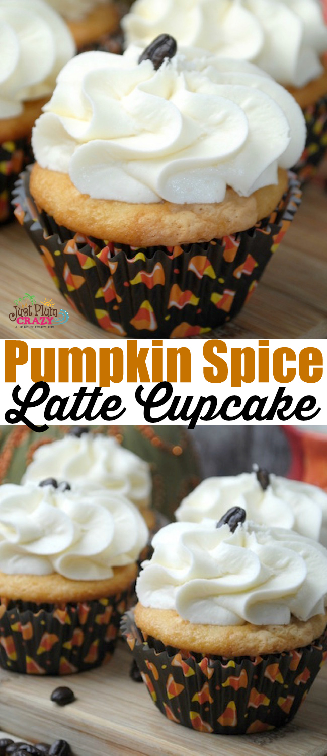 Brilliant flavors of pumpkin spice and vanilla all wrapped up in a moist delicious cupcake! These are the perfect fall dessert for any occasion.