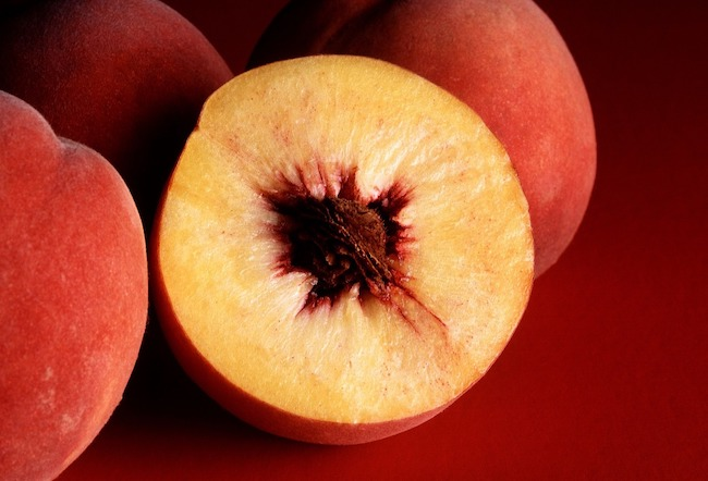 """Happy National Peach Month! Nothing says """"summer"""" like a warm peach cobbler recipe made with the freshest, juiciest peaches you can find."""