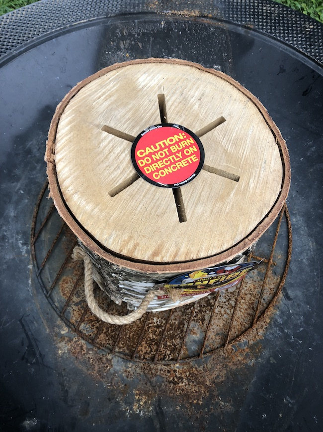 Each Jumbo Light n Go Bonfire Log will burn for approximately 2 and a half hours, can be used indoors or outdoors and is safe for cooking over.