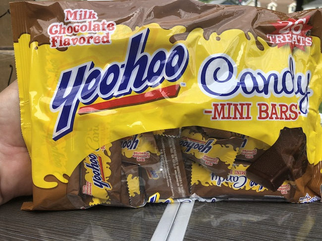Palmer mini YooHoo candy bars