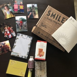 The GrandBox monthly subscription box made especially for grandparents. Each box is unique and personalized for the person you are sending it to.
