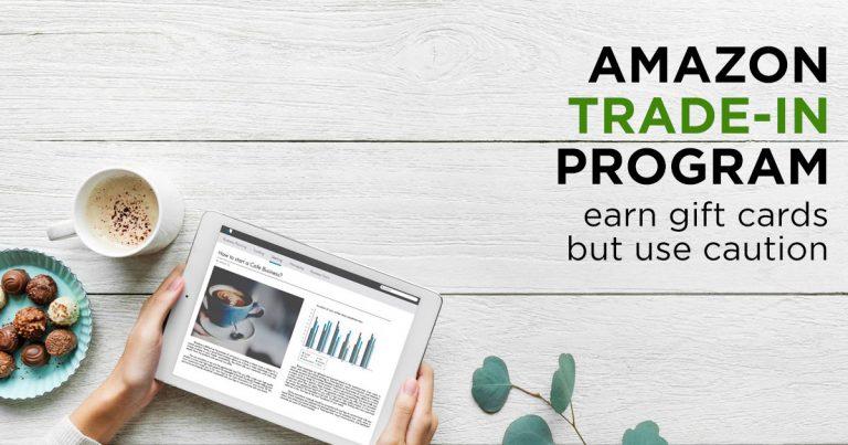 Amazon Trade In Program Caution