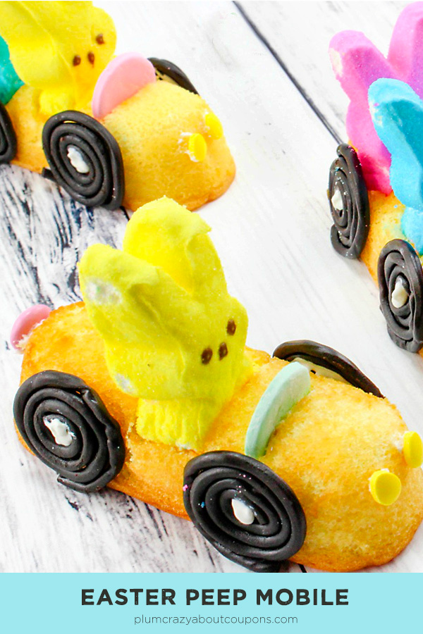 Easter Peep Mobile with Twinkies