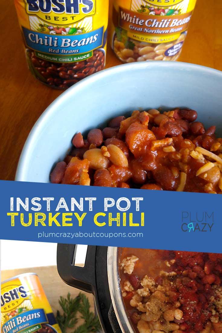 Turkey Chili Recipe - Insta Pot