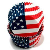 Patriotic Cupcake Liner