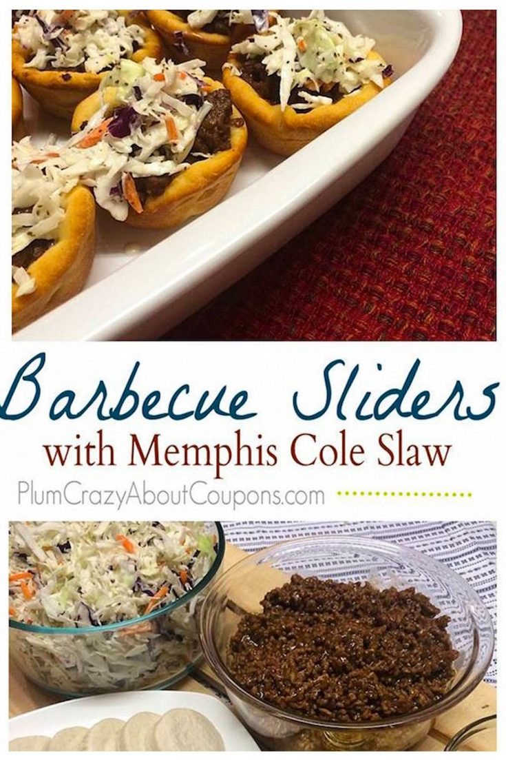 A savory blend of barbecue beef with a zesty Memphis style slaw.