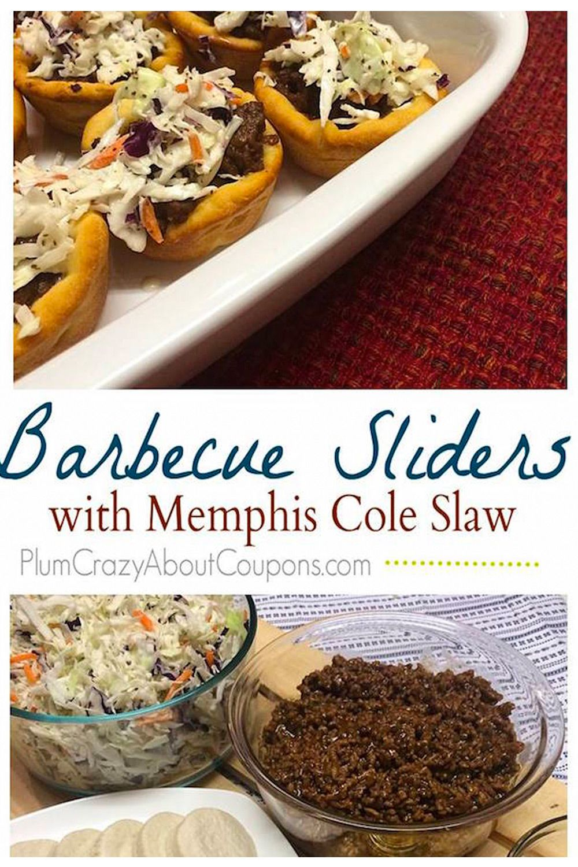 BBQ Slider With Slaw Recipe