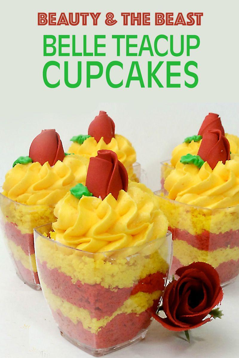 Beauty & Beast Cupcake Recipe