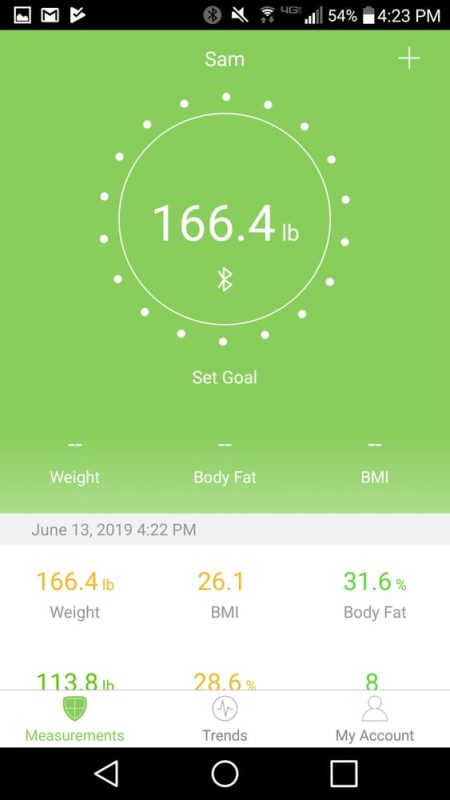 Etekcity Smart Scale App Details