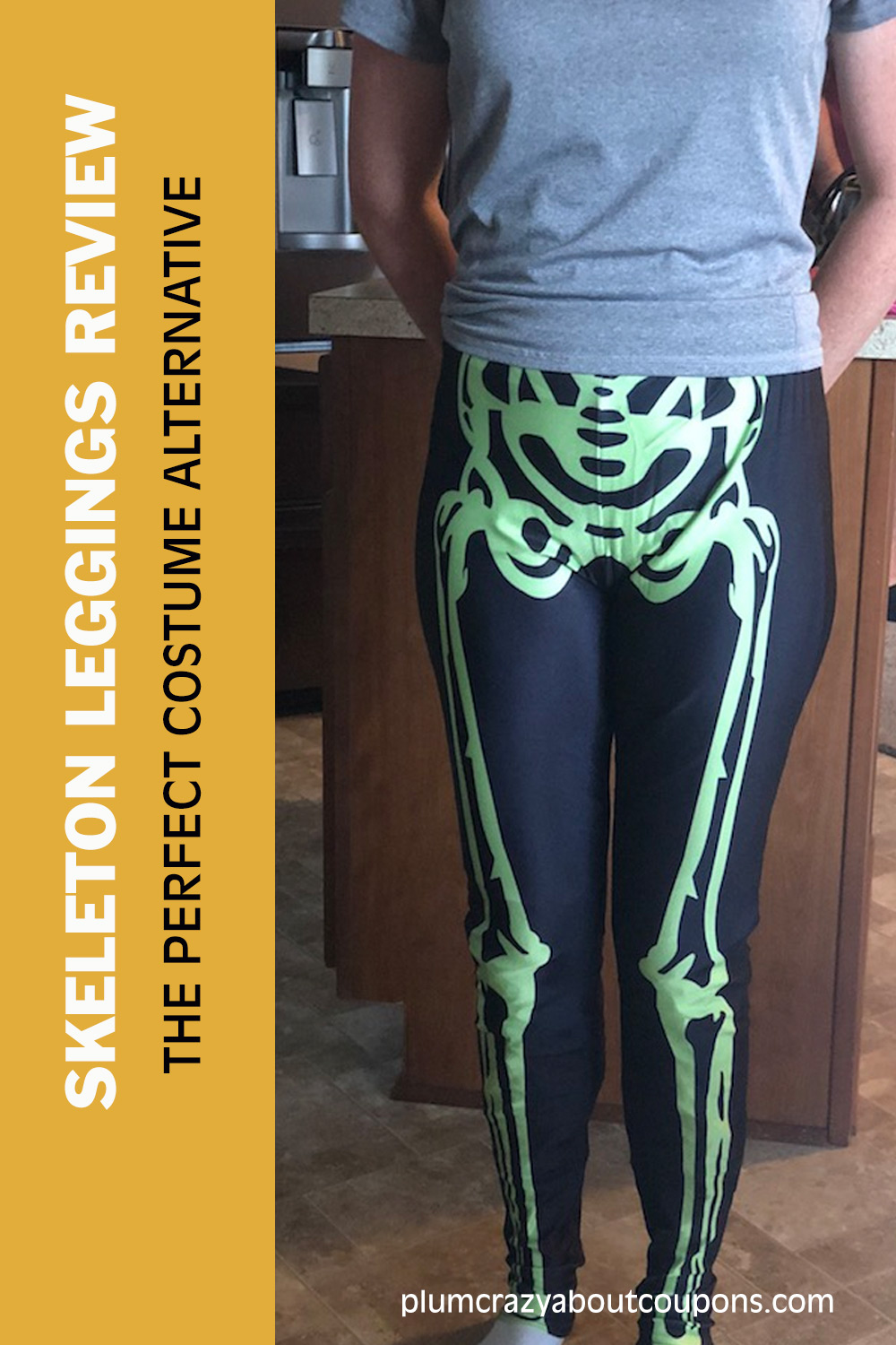 Skeleton Leggings from  Kapow