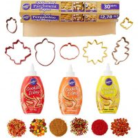 Wilton 2106-0-0049 Icing Cookie Cutter And Decorating Kit, Assorted
