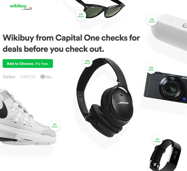 WIkibuy home page