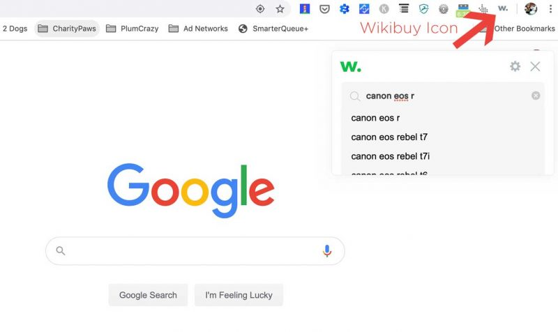 Where you can find search Wikibuy functions