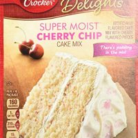 Betty Crocker Cherry Chip Cake Mix and Cherry Frosting Bundle - 2 of Each