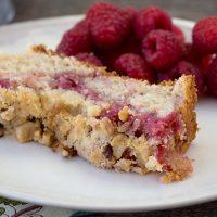 Raspberry Coffee Cake: a subtle yet sweet raspberry coffee cake
