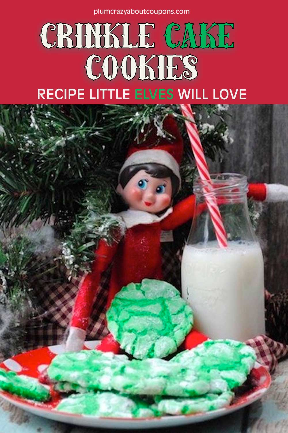 cake mix crinkle cookies recipe.