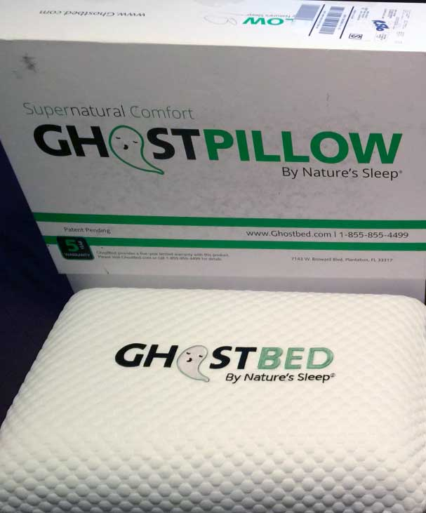 GhostPillow image and review