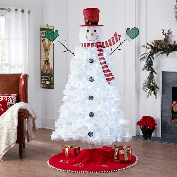 Snowman Christmas Tree Diy For Under 50